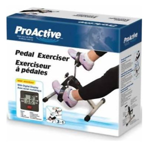 Pro Active Pedal Exerciser with digital display
