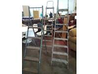 Vintage ladders. Ideal for displays