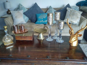***Moving Sale*** LAST DAY!!! SIDE TABLES, CURTAIN RODS, DECOR