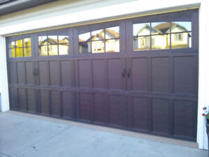 overhead garage door repair service call (780) 233-3030