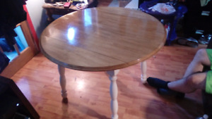 SOLD - Refinished Wood Table