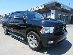2012 Ram 1500 Sport - Crew Cab (Remote starter, Sunroof, Leather