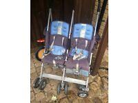 Maclaren Twin Techno double stroller / pram
