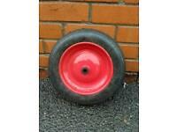 Wheelbarrow solid wheel like new