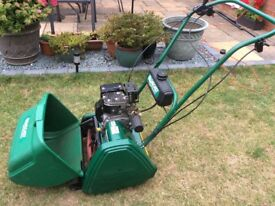 Qualcast cylinder mower 43S (petrol)
