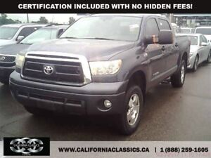2010 Toyota Tundra TRD! CREWMAX! LEATHER! SUNROOF! - 4X4