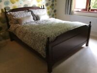 Stag Minstrel Kingsize Bed Frame including Mattress
