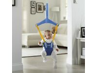 Chicco baby bouncer swing for the house door way