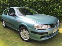 2001 Nissan Almera 1.5i Activ - MOT until April 2018 (No advisories) - Cheap, reliable Japanese Car