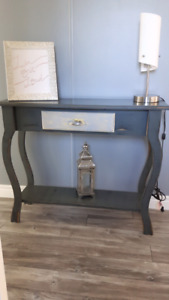 Wooden Rustic style sofa table