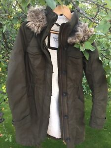 Manteau hiver fill small Abercrombie