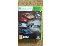 """Xbox 360 """"The Crew"""". 2 discs, excellent condition. £4"""