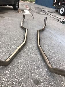 Stainless exhaust 2.5 inch for67- 69 Camaro
