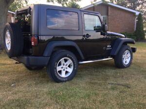 2007 Jeep Wrangler Coupe (2 door)