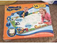 Aquadoodle Mat (boxed) with pen and travel mat