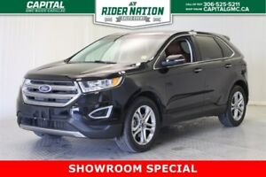 2016 Ford Edge Titanium AWD *Brown Leather-Power Liftgate-Naviga