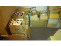 over 5000 dvds/500 brand new/200 boxsets some new/100 cds/odd game