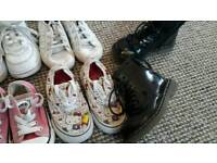 Girls' shoes, various