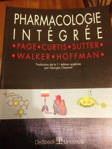 Pharmacologie intégrée, De Boeck