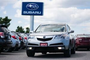 2012 Acura MDX 6sp at Leather,Roof,2 Sets of Rims/Tires,