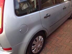 Ford CMAX 1.6 , with 111000 millage,9 months MOT , Full service history,manual
