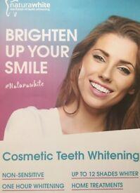 Natura white cosmetic teeth whitening