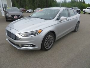 2017 Ford Fusion SE AWD, NAVIGATION, LEATHER, SUNROOF!!
