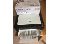 Ricoh SP100 b/w laser printer complete with new unopened cartridge