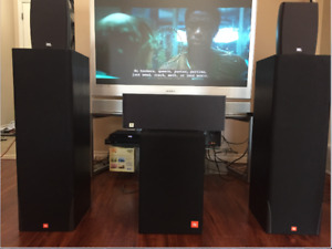 GBL Home theatre sound system + Free TV
