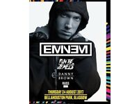 3 Eminem tickets