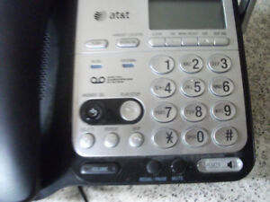 AT&T speaker phone with answering machine