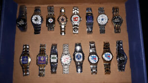 Stainless steel watches 16 for $80