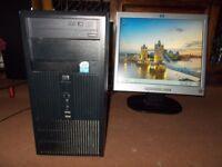Ulltimate (HP)(Duall-core) (3.2 Ghz) Computer (Windows 7 )