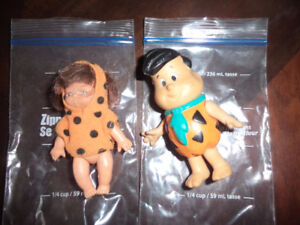 Fred Flintstone and {Pebbles) 8.00 for both.