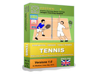 GESTICS TENNIS BADMINGTON - Make graphics sports exercises, draw sport