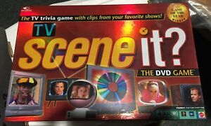Scene it? TV Edition. DVD Board Game