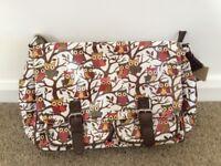 Perfect condition - Cross Body Satchel Messenger Bag.
