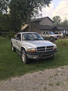 2002 Dodge Dakota 4x4 sport