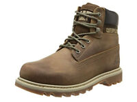CAT Footwear Colorado, Men's Boots, dark beige--NEW with tag in box