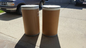 2 drum storage containers