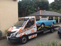 vehicle recovery service car transport breakdown recovery car transportation