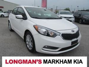 2015 Kia Forte 1.8L LX+ One Owner Like New