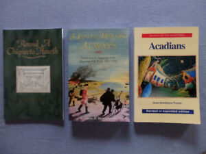 Books on Acadian History