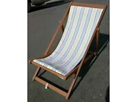 Retro teak Deckchairs
