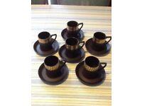 Portmeirion Coffee Set