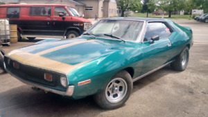 QUICK SALE 1971 AMC SST JAVELIN  8500.00 OBO