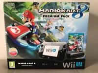 Nintendo Wii U Premium Pack 32GB Mint