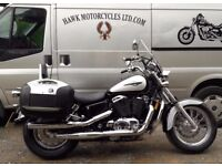 EXCELLENT CONDITION 2000 HONDA VT1100 SHADOW ACE TOURER ONLY 5317 MILES LOADED
