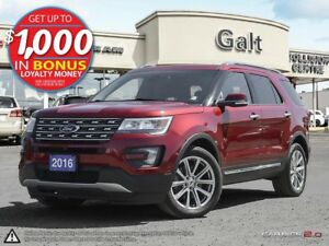 2016 Ford Explorer Limited LEATHER | ROOF | NAVI | ONLY $284 BI-
