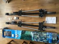 2x Halfords Deluxe Bicycle / Cycle carriers